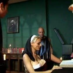 Den tysk pornoskuespillere Antonia Deona knullet blant flere menn