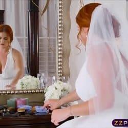 Fett brud jukser fremtidig ektemann på bryllupsdagen ved å knulle en annen