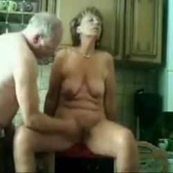 Gamle tysk par jævla hardt