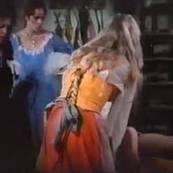 Kåt Askepott i en pornofilm