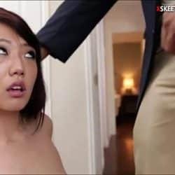 Miko Dai redd og knullet av hennes voldtekts kjæreste