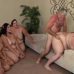 Det vanskelige oppdraget med å få fem fete kvinner til å glede seg