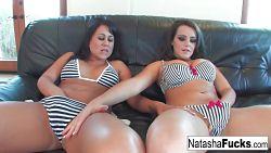 Trekant XXX med Natasha Nice og Kayme Kai