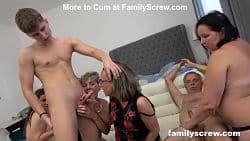 En pervertert xxx orgie av kåte modne kvinner